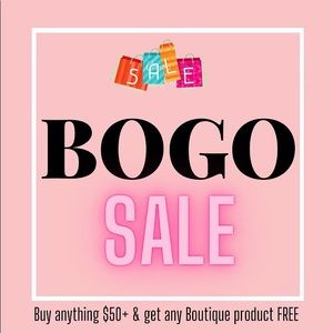 🚨 BOGO SALE! 🚨 HURRY! For a limited time!